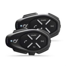 INTERPHONE BLUETOOTH HEADSET LINK TWIN PACK