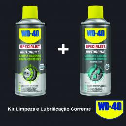 PACK WD-40 LUBRIFICANTE + LIMPA CORRENTE 400ML
